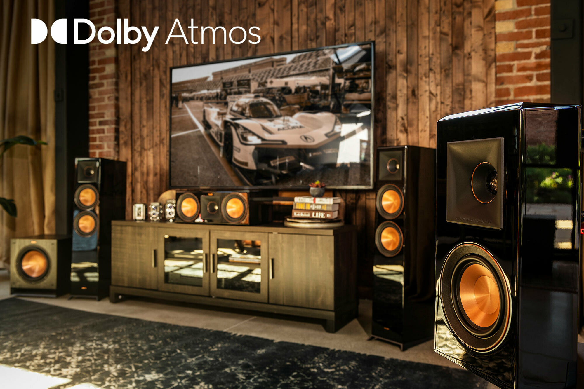 Klipsch Reference Premiere Dolby Atmos living room best home theater