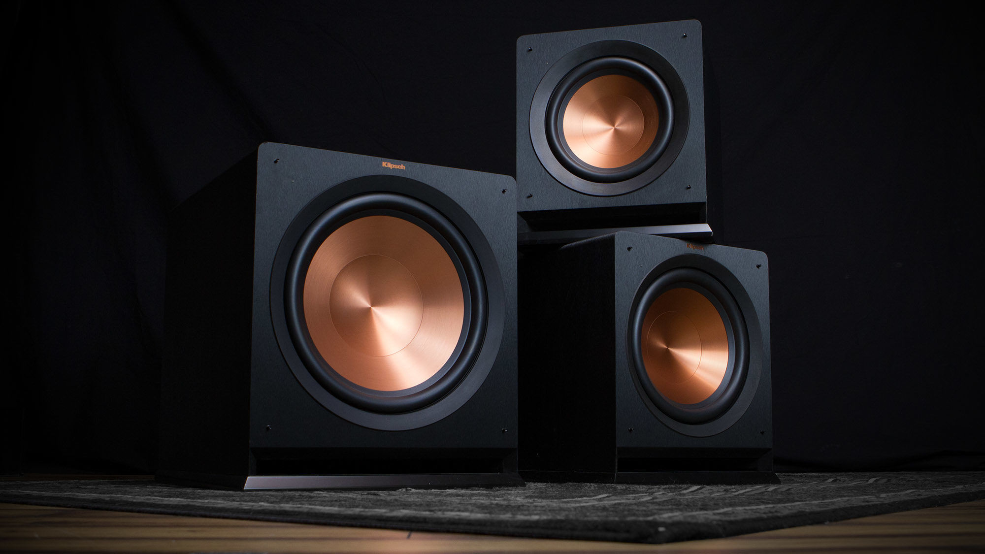 Klipsch subwoofers product stack