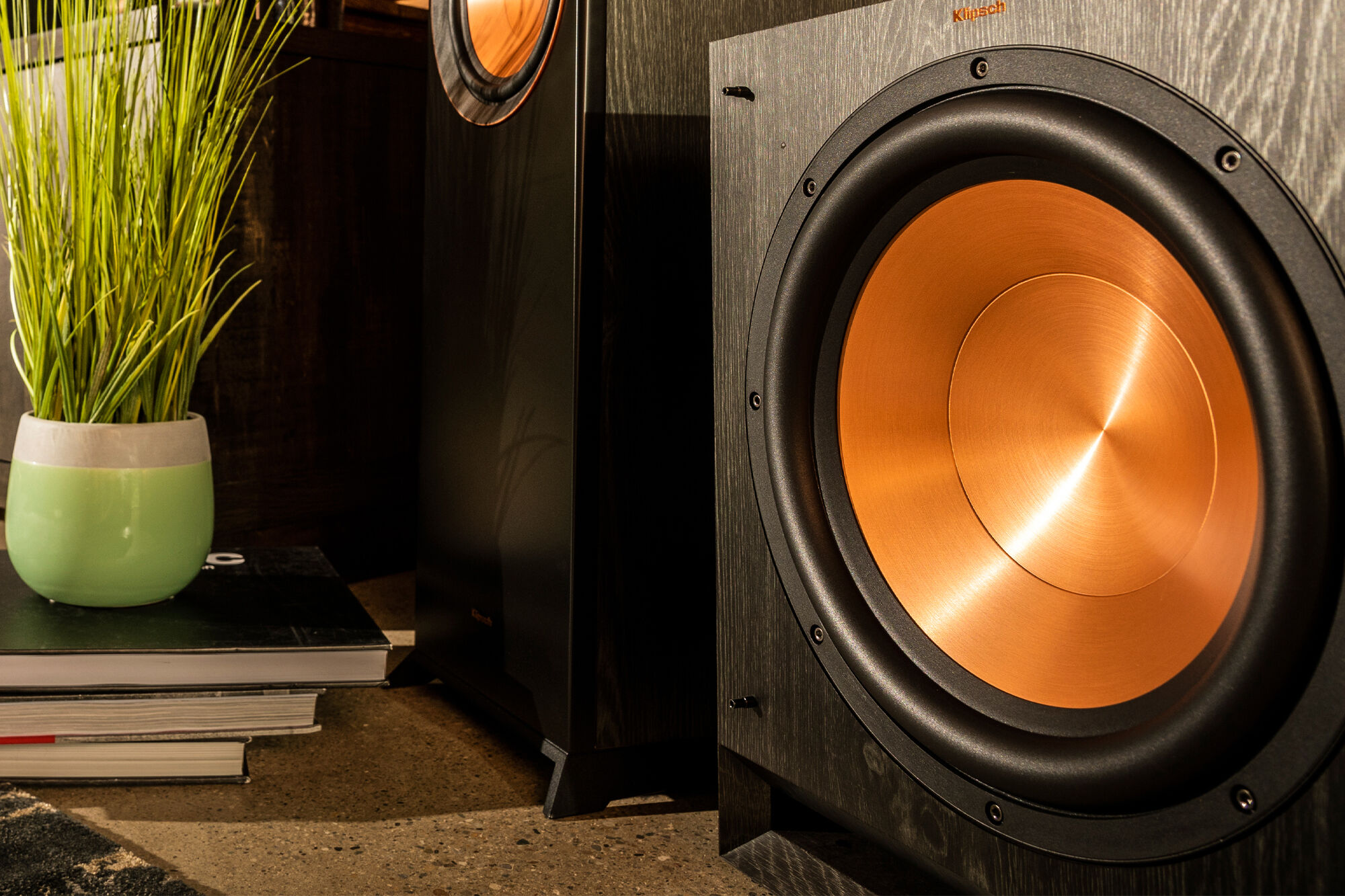 Klipsch best places to put a subwoofer