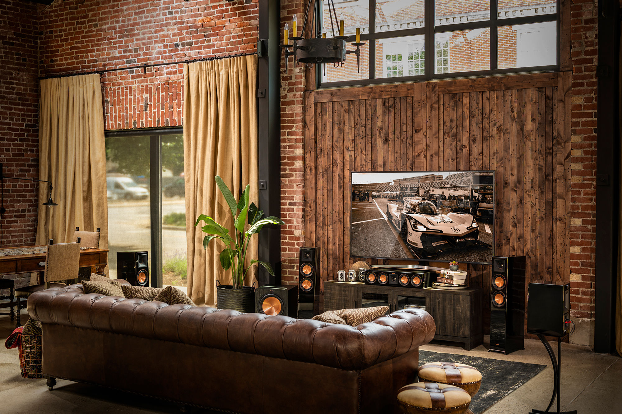Klipsch Reference Premiere Atmos in a living room
