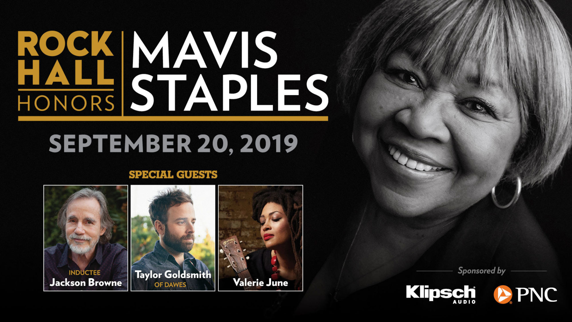 Mavis Staples with Guests poster