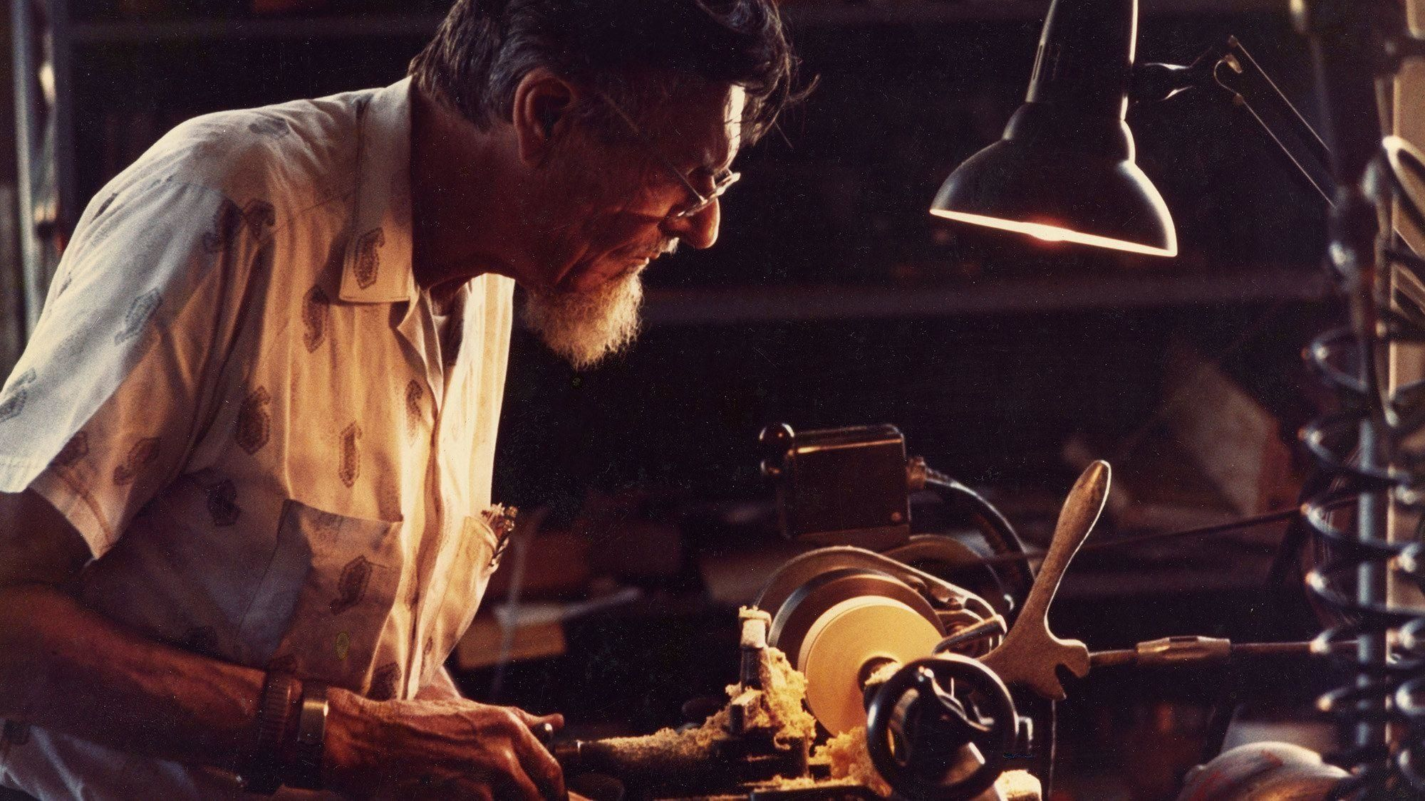 Paul W. Klipsch wood lathe