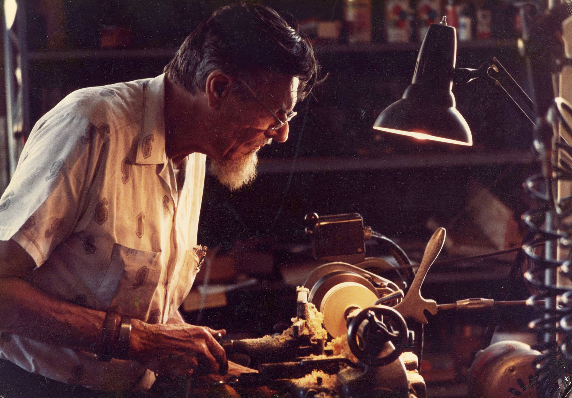 Man working in a workshop