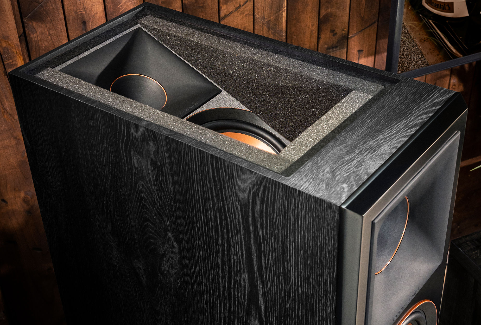 Klipsch RP-8060F floorstanding speaker top view