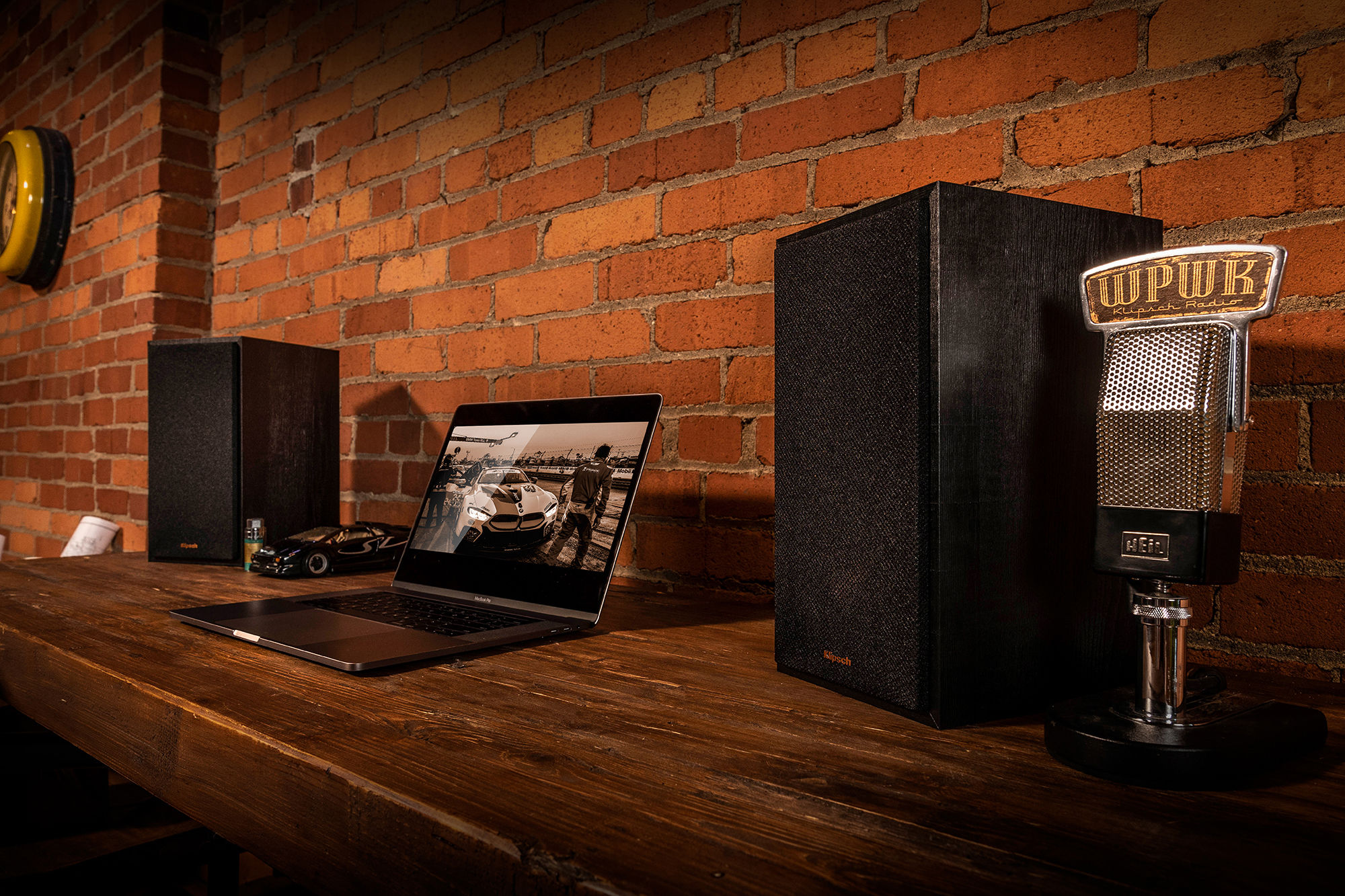 Klipsch Reference Powered speakers by laptop
