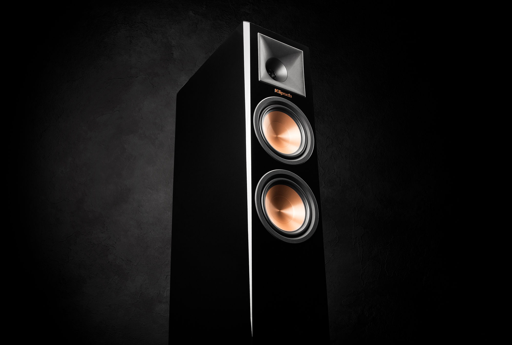 Reference Premiere Piano Black Floorstanding Speaker