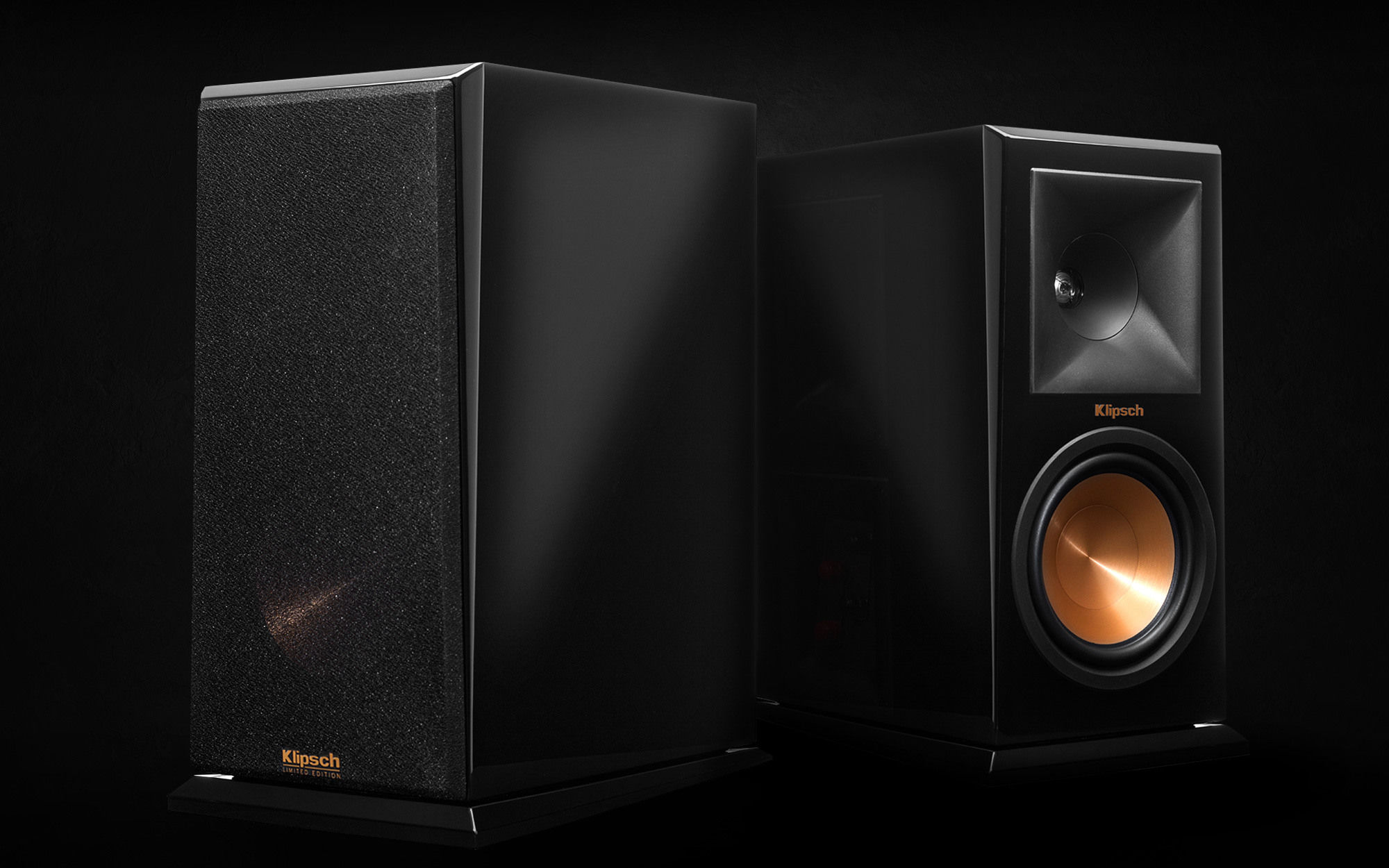 Klipsch Reference Premiere Piano Black bookshelf speakers