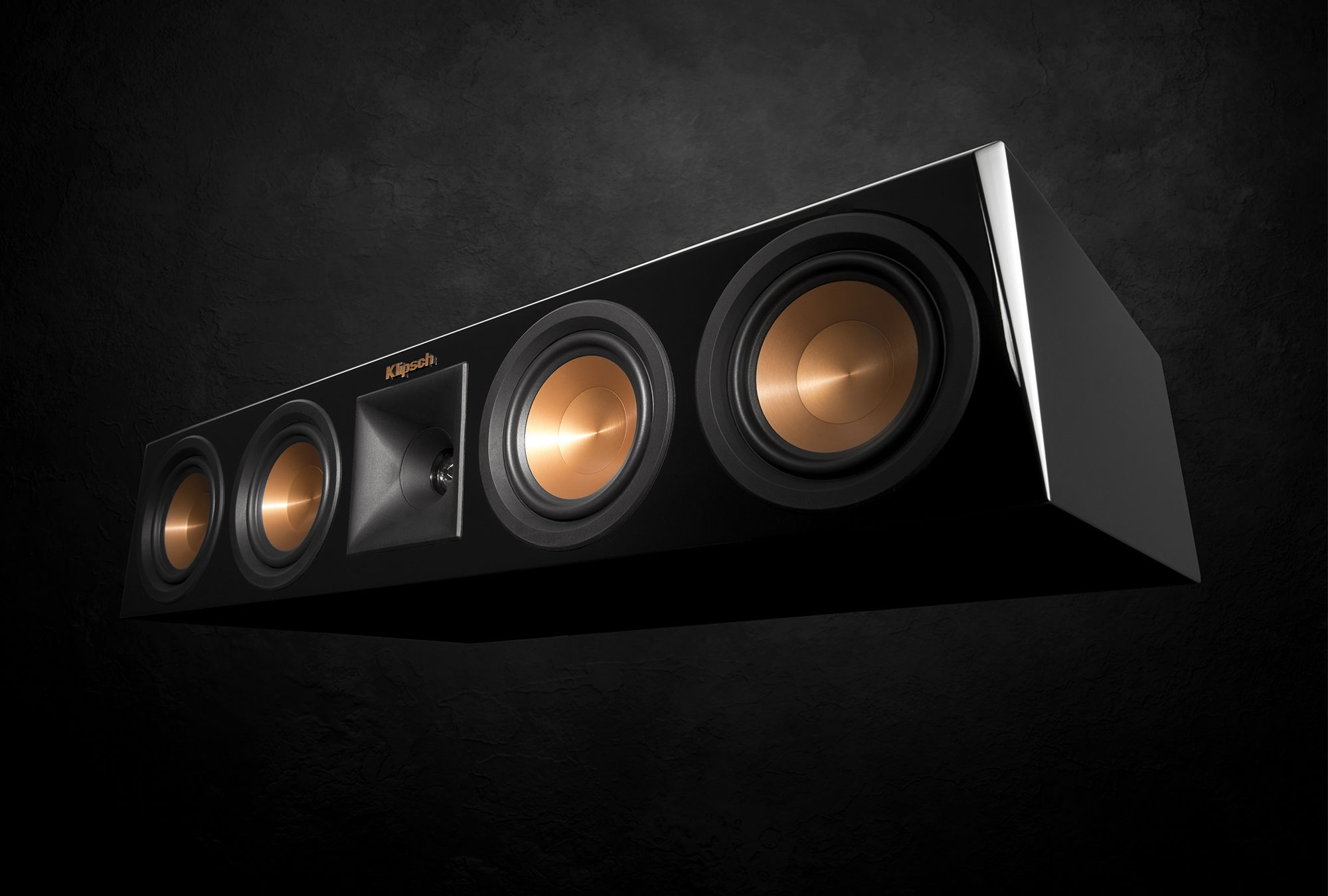 Reference Premiere Piano Black Center Channel Speaker