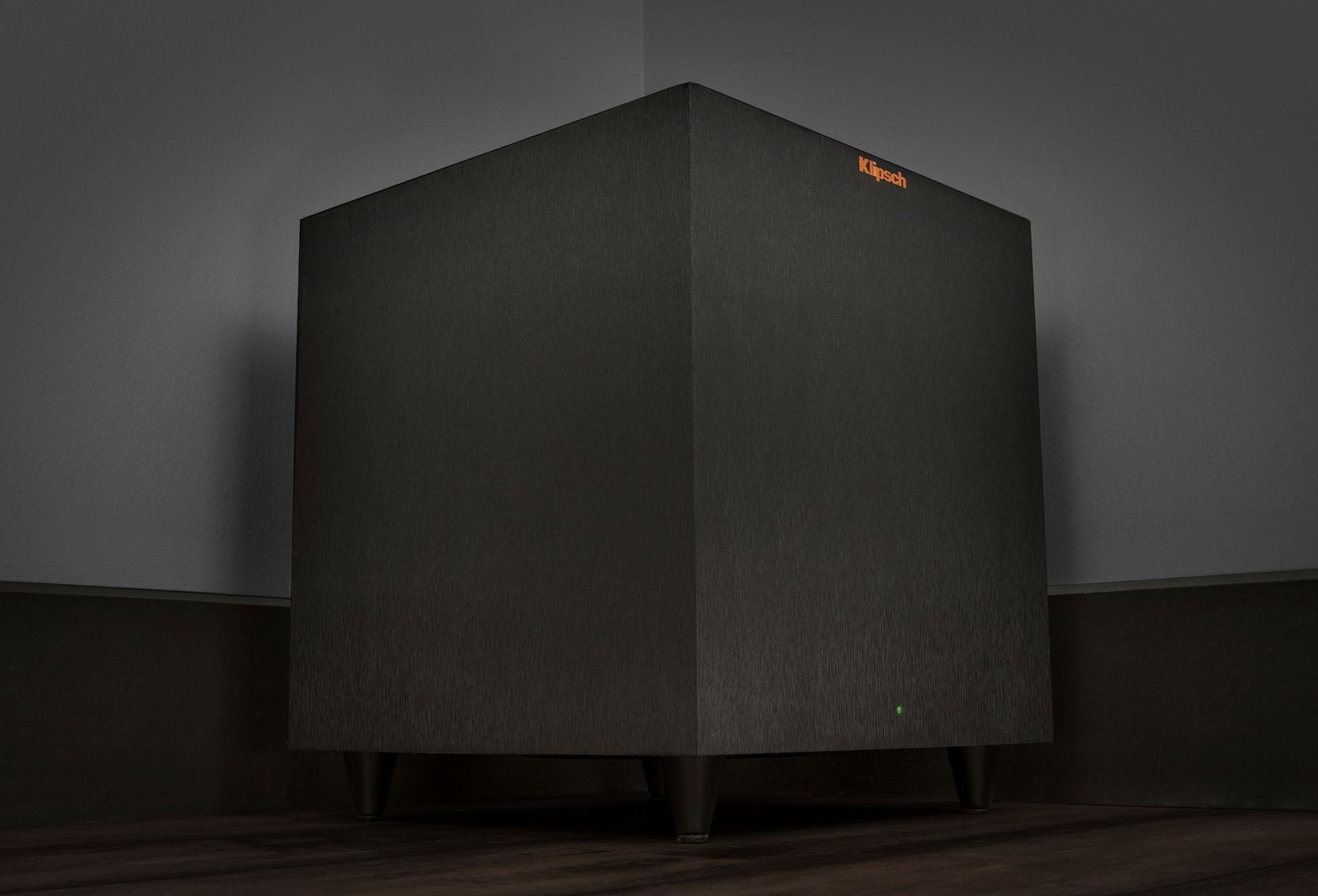 Reference Theatre Pack Subwoofer in a corner