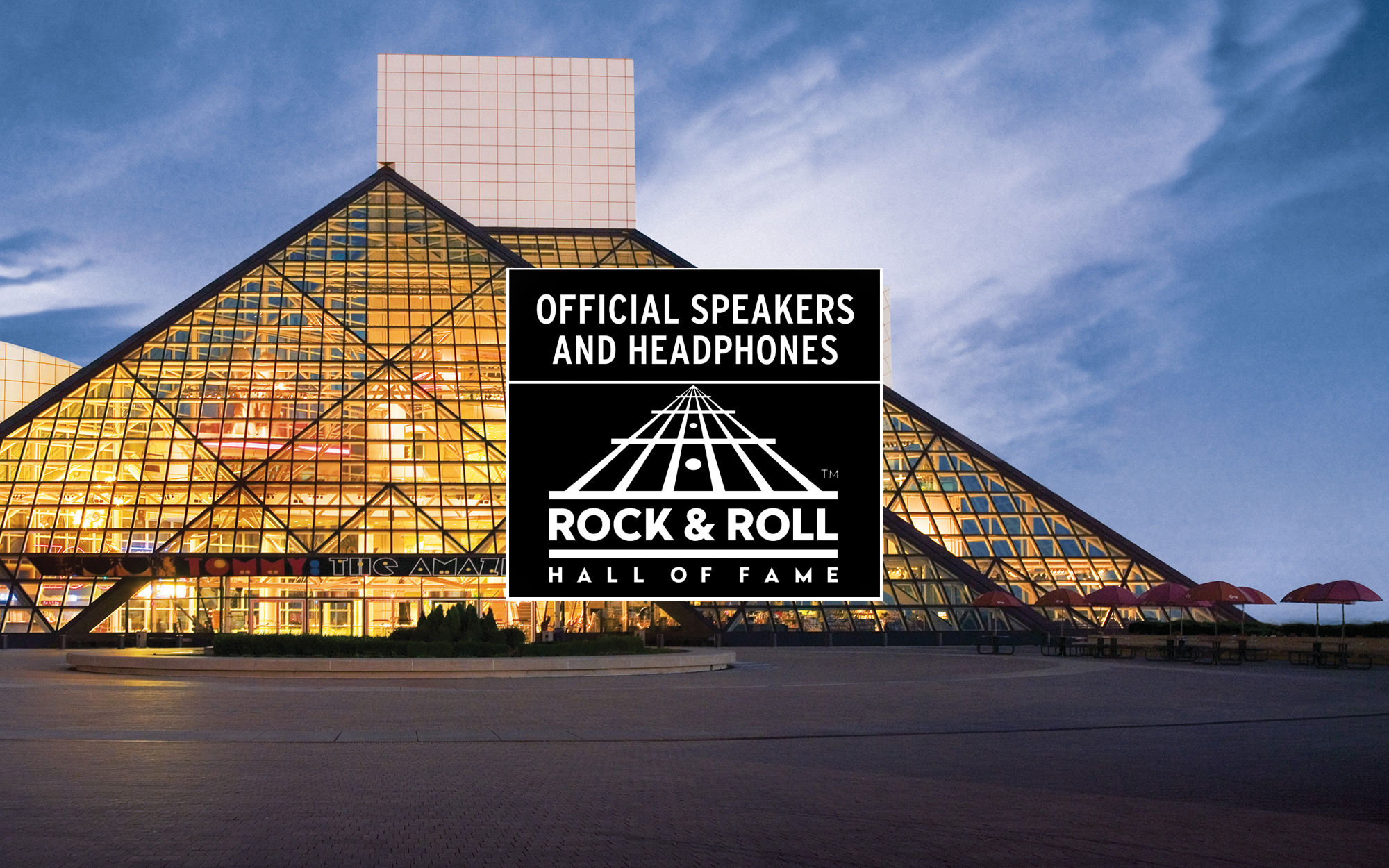 Official Speakers and Headphones of the Rock and Roll HOF