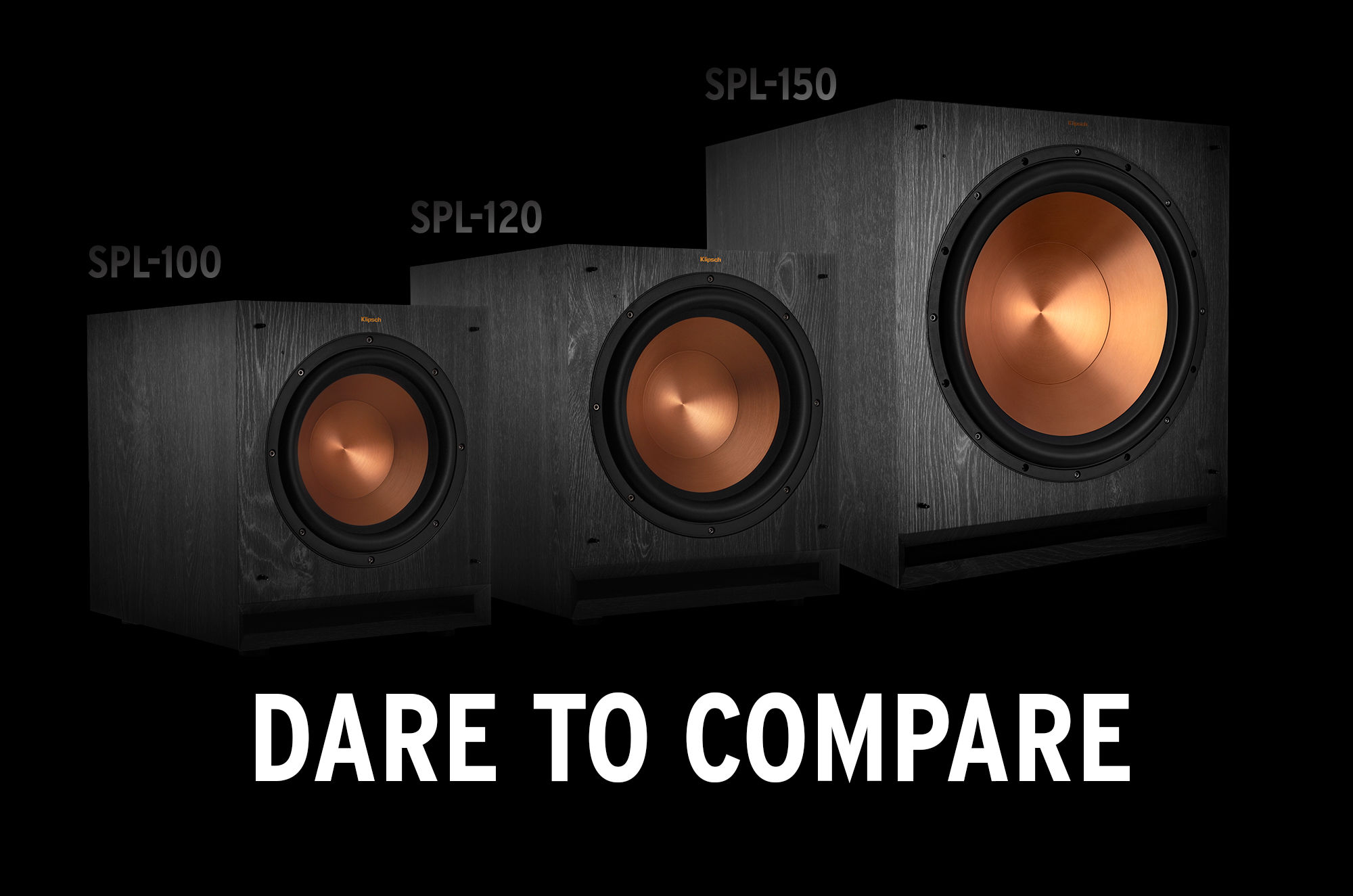 Comparison of SPL subwoofers