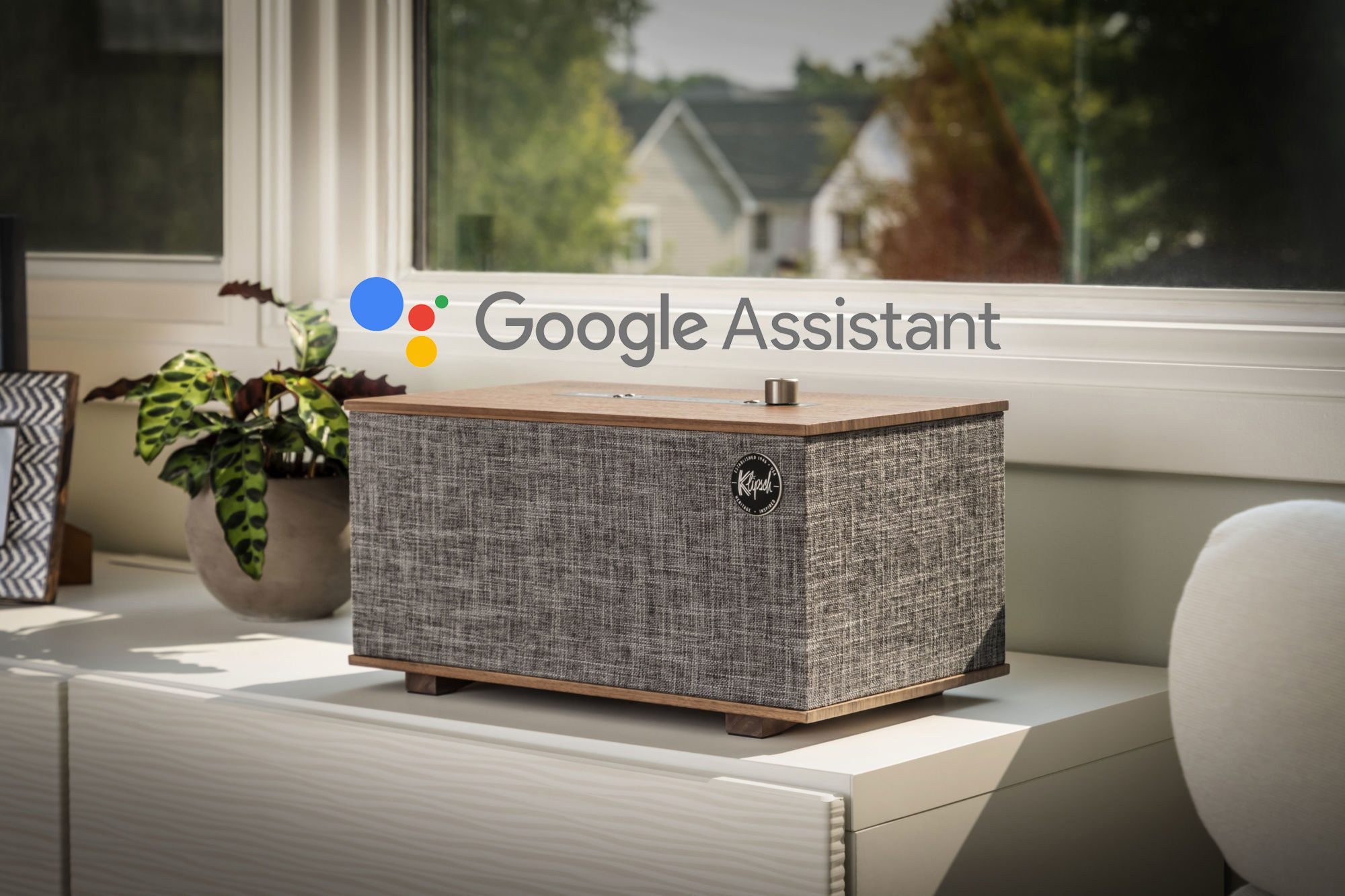 The Three Google Assistant Home