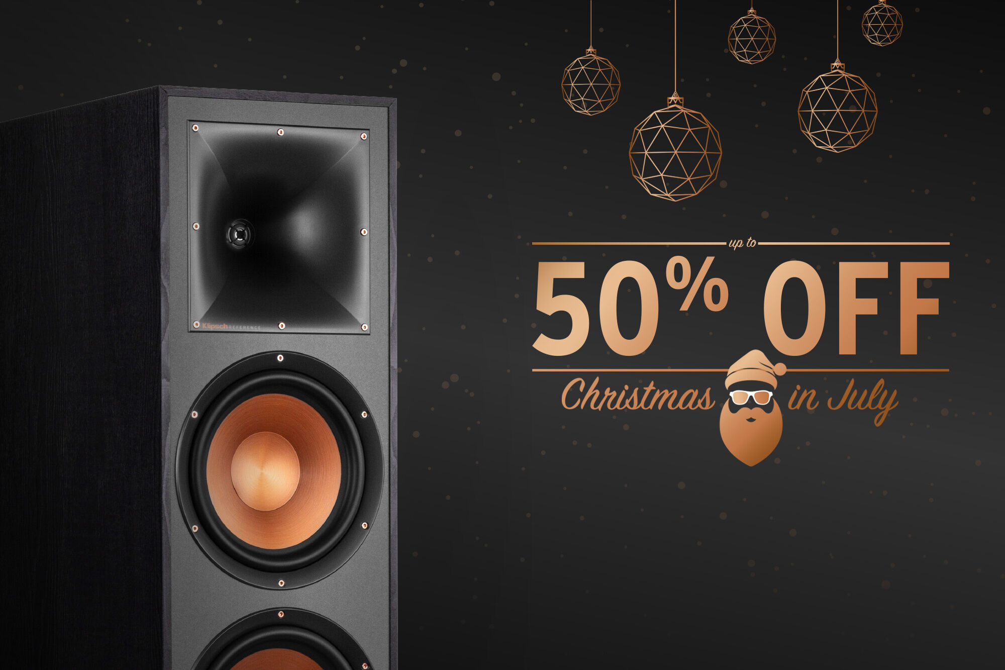 Klipsch Christmas in July 2020 sale
