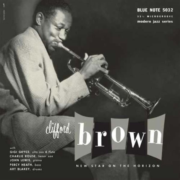 "Clifford Brown ""New Star on the Horizon"" Album Cover"