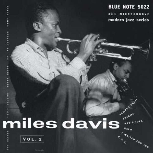 "Miles Davis ""Volume 2"" Album Cover"