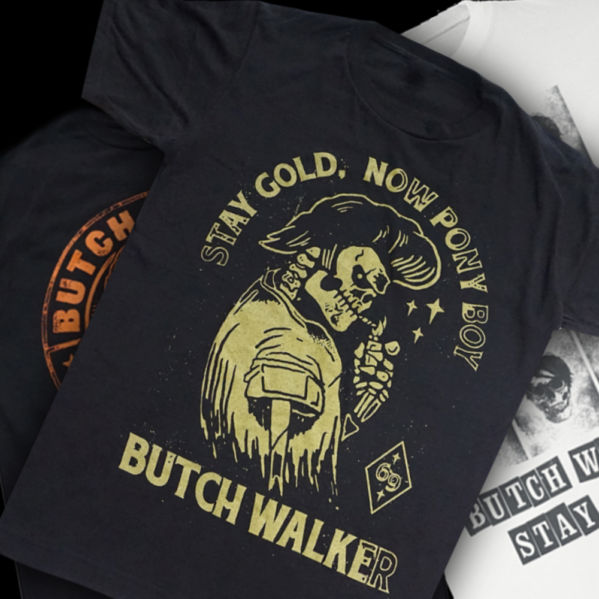Butch Walker Stay Gold t-shirt
